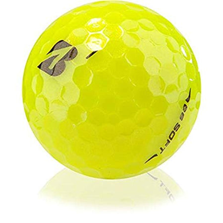 BRIDGESTONE e6 SOFT YELLOW 3 BALL SLEEVE GOLF BALLS - RANDOM # - Golf Country Online