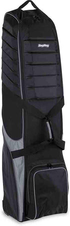 Bag Boy T-750 Wheeled Travel Golf Cover - Black/Charcoal