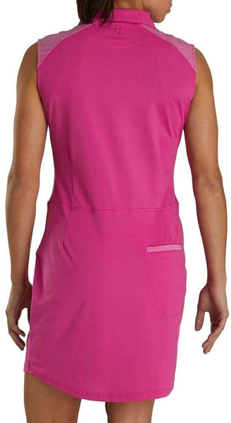 FootJoy Women's Sleeveless Pique Golf Dress - Rose
