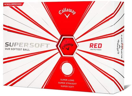 Callaway Supersoft Golf Balls (One Dozen) - Red