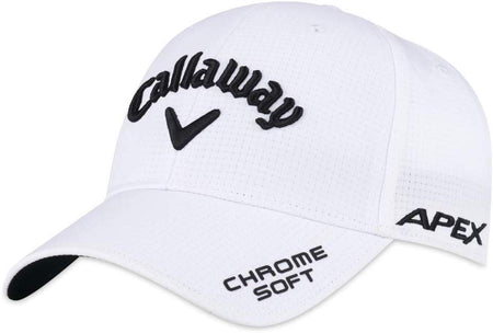 Callaway Golf Tour Authentic Performance Pro Epic Flash Chrome Soft Hat WHITE - Golf Country Online
