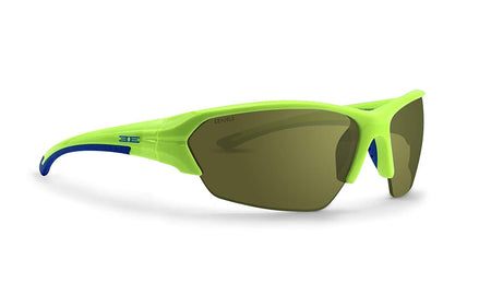 Epoch 2 Golf Sunglasses Lime and Blue Frame High Clarity Green Lens - Golf Country Online