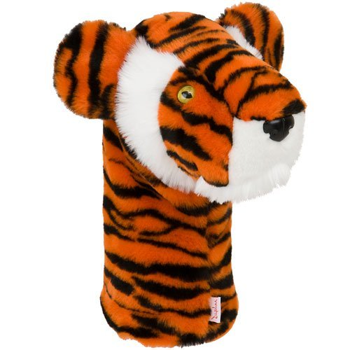 Daphne's Wild Tiger Animal Cat Large Driver Headcover - Golf Country Online