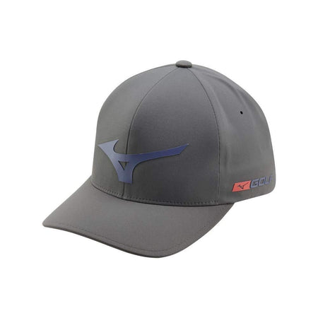 Mizuno Tour Delta Golf Hat, Grey-Navy - Golf Country Online