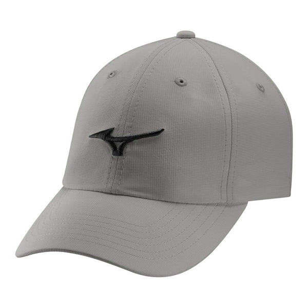 Mizuno Adjustable LW Golf Hat, Frost Grey/Black - Golf Country Online