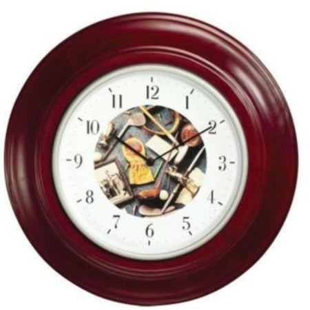 Clubhouse Collection 1261 Golf Motif Quartz Clock