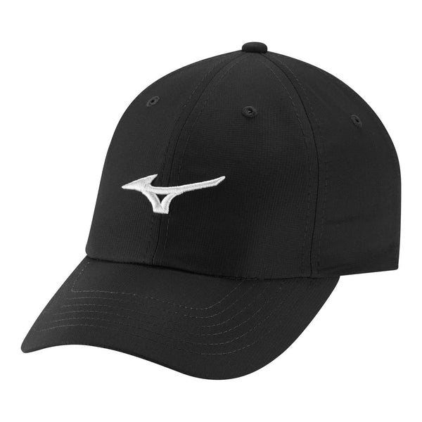 Mizuno Adjustable LW Golf Hat, Black/White - Golf Country Online