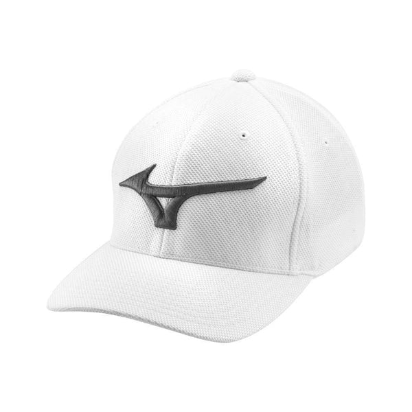 Mizuno Tour Performance Fitted (OSFA) Golf Hat, White - Golf Country Online