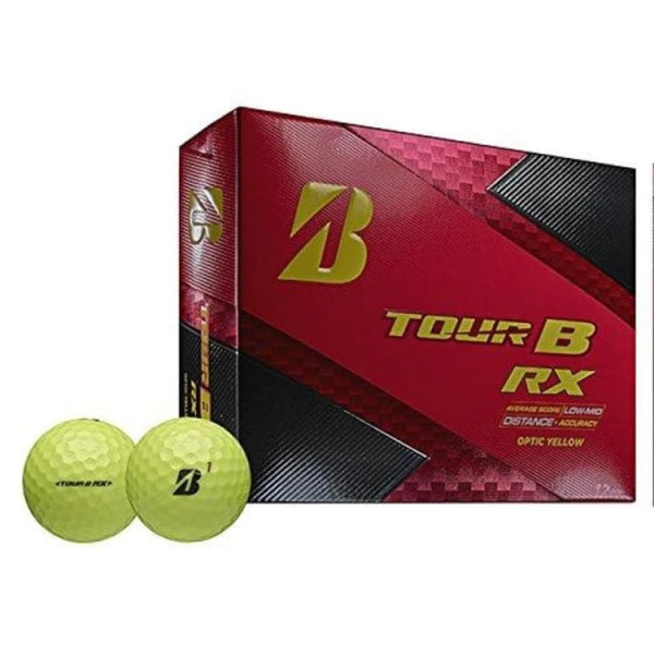 Bridgestone Golf Tour B RX Golf Balls, Yellow (One Dozen) - Golf Country Online