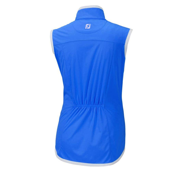FootJoy Women Lightweight Softshell Golf Vest - Electric Blue - Golf Country Online