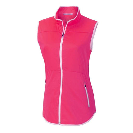 FootJoy Women Lightweight Softshell Golf Vest - Berry