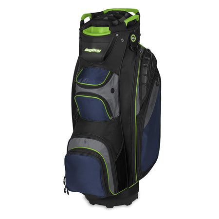 Bag Boy Golf Defender Cart Bag (Royal/Black/Charcoal/Lime) - Golf Country Online