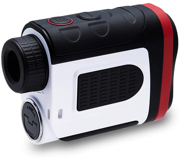 Golf Buddy Laser1S with Slope Rangefinder/Pin Finder with Vibration, Black/White/Red