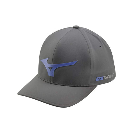 Mizuno Tour Delta Golf Hat, Grey-Royal - Golf Country Online