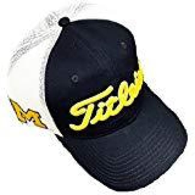 Titleist Collegiate Twill Mesh Adjustable Hat- University Of Michigan - Golf  Hats 2b06311e54b