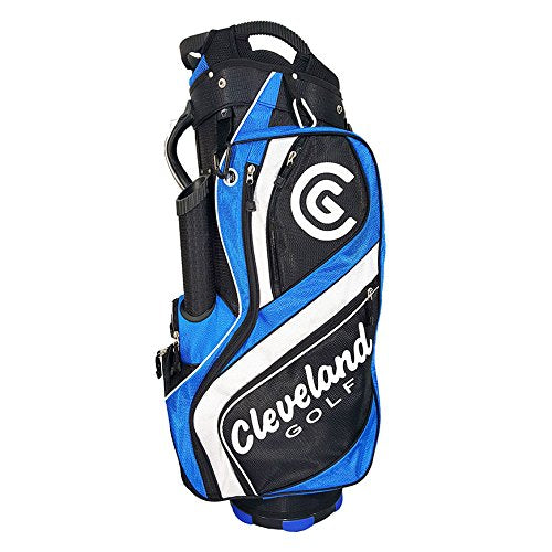 Cleveland Golf Male Cg Cart Bag, Black/Blue/White - Golf Country Online