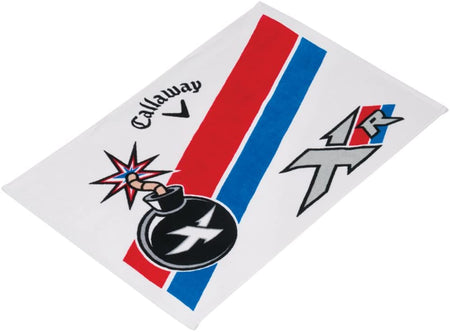"Callaway Golf XR Cart Cotton Mens Performance Golf Towel 24""x16"" - Golf Country Online"