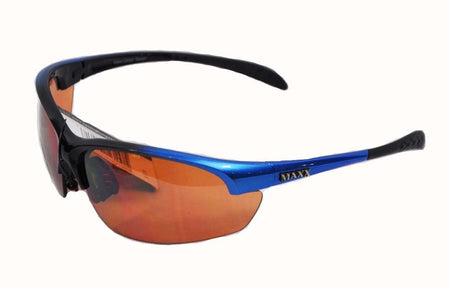 Maxx Sunglasses - Sempre Blue Frame HD Amber Lenses