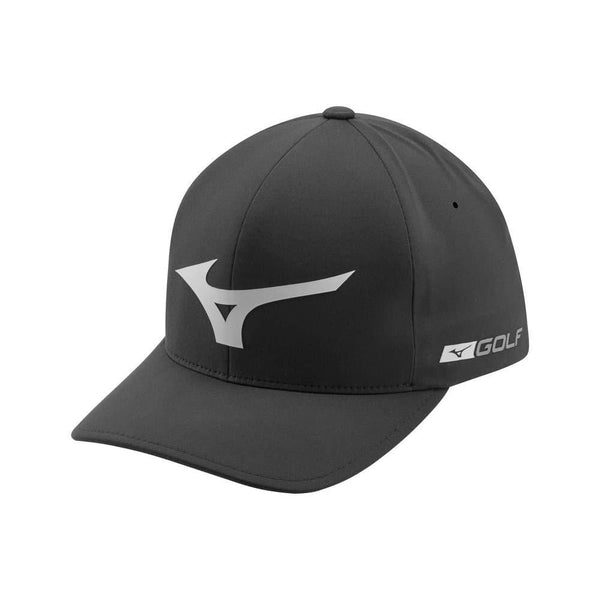 Mizuno Tour Delta Golf Hat, Black-Grey - Golf Country Online