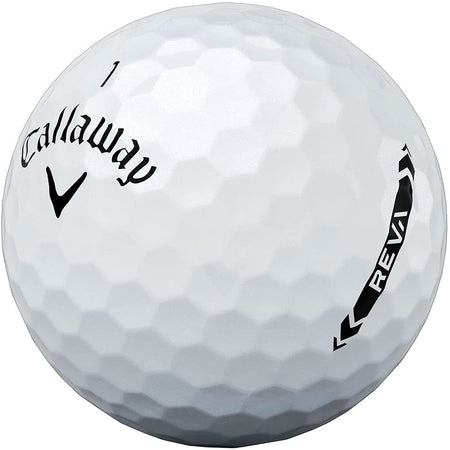 Callaway 2021 REVA Golf Balls (One Dozen) - White