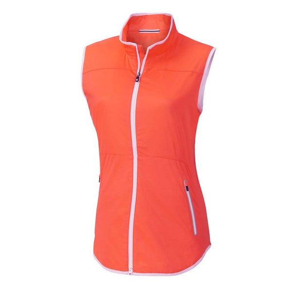 FootJoy Women Lightweight Softshell Golf Vest - Papaya