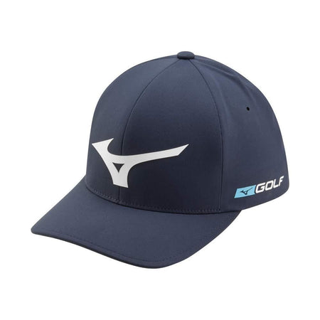 Mizuno Tour Delta Golf Hat, Navy-White - Golf Country Online