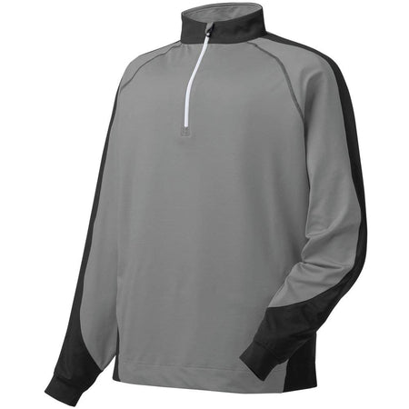 FootJoy Performance Half-Zip Sport Pullover Black/Grey