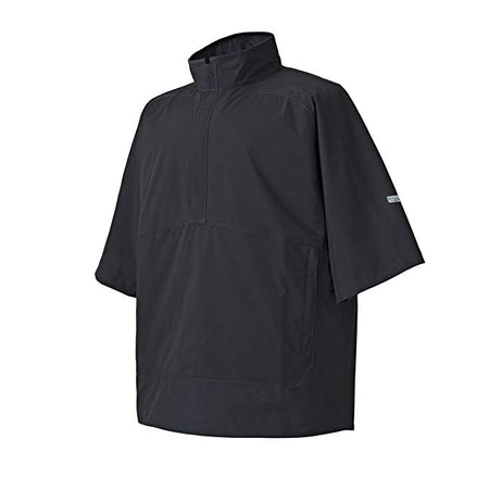 FootJoy Men's Hydrolite Short Sleeve Rain Shirt - Black #23700
