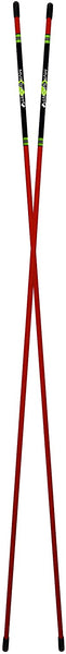Morodz Golf Alignment Rods, Pack of 2 (Red)