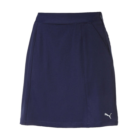 "PUMA Golf Womens Women's 18"" Pounce Skirt - Peacoat"