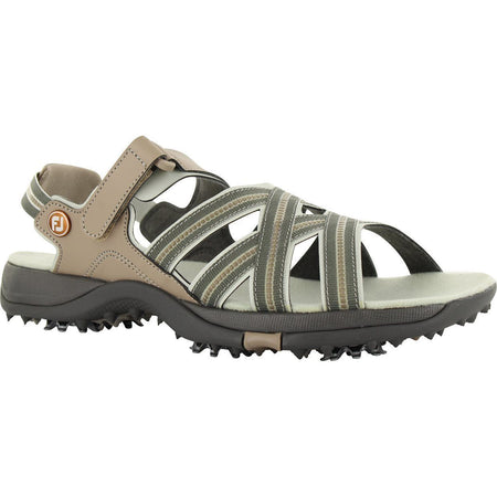 FOOTJOY WOMENS GOLF SANDALS TAN - 48446