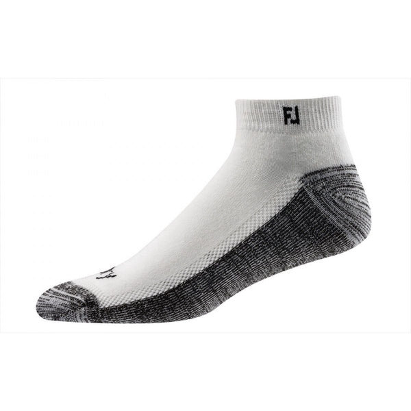 FootJoy Mens ProDry Extreme Sport Socks (XL Shoe Size 12-15) WHITE