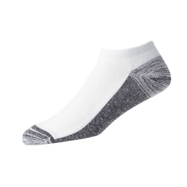 FootJoy Mens ProDry Low Cut Socks  - White