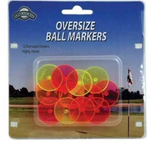 OnCourse Oversize Neon Ball Markers - Golf Country Online
