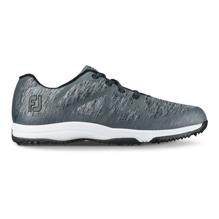 FOOTJOY WOMENS LEISURE GOLF SHOES 2018 CHARCOAL SPACE DYE - 92904