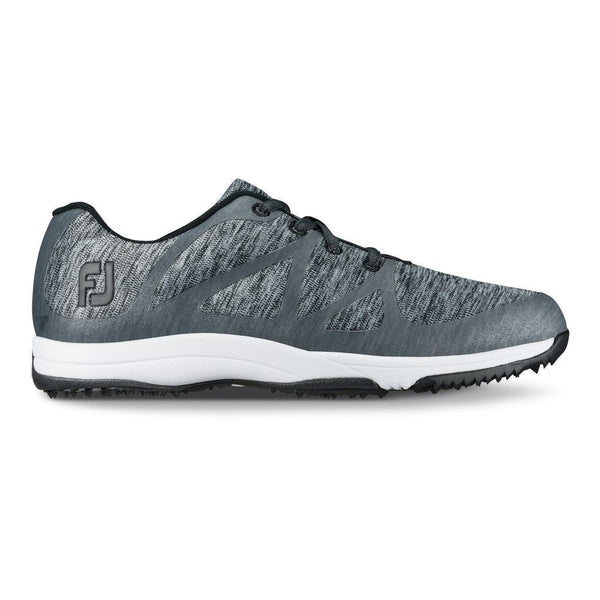 FOOTJOY WOMENS LEISURE GOLF SHOES CHARCOAL SPACE DYE - 92904 - Golf Country Online