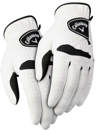 Callaway Men's Xtreme 365 Golf Gloves Size REGULAR MED/LRG - Pack of 2