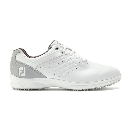 FOOTJOY ARC SL GOLF SHOES -WHITE/SILVER #59700 - Golf Country Online