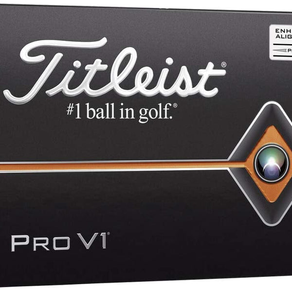 Titleist Pro V1 AIM Enhanced Alignment Golf Balls (1 Dozen) - Golf Country Online