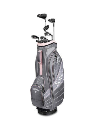 CALLAWAY LADY SOLAIRE '18 COMPLETE GOLF SET - CHERRY BLOSSOM