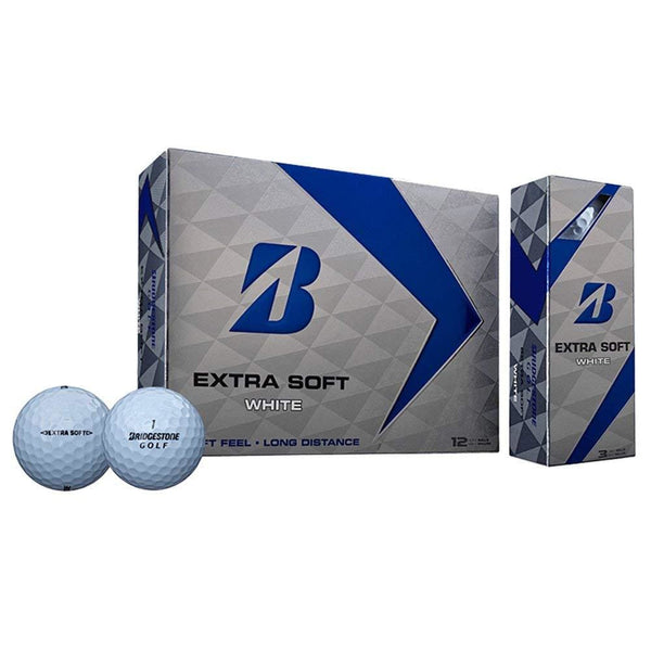 Bridgestone Golf Extra Soft White Extra Soft White (12-Ball Pack) - Golf Country Online