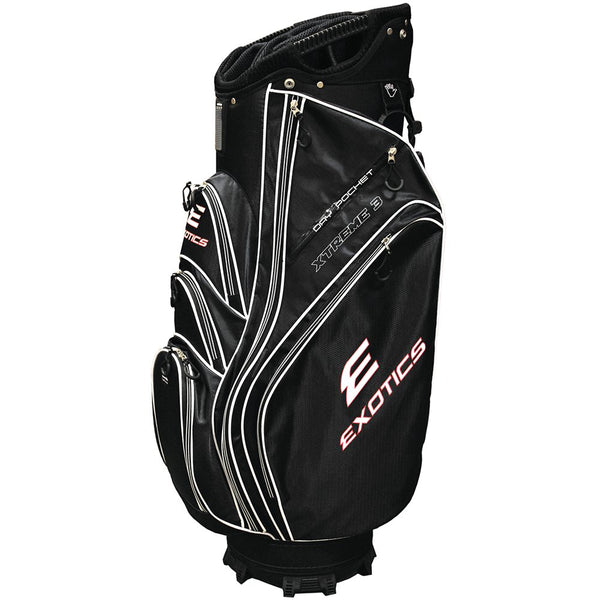 Tour Edge Exotics Xtreme 3 CART Golf Bag - BLACK - Golf Country Online