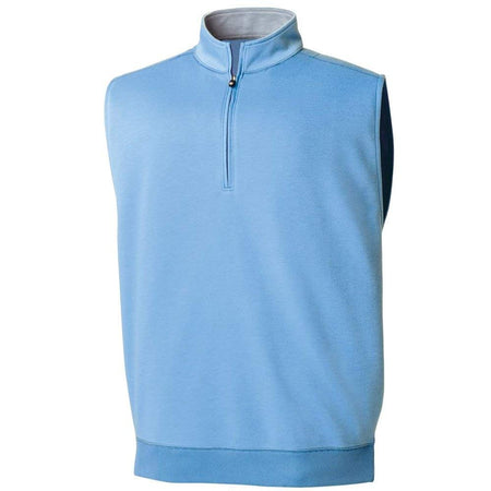FootJoy Half-Zip Golf Vest - Light Blue