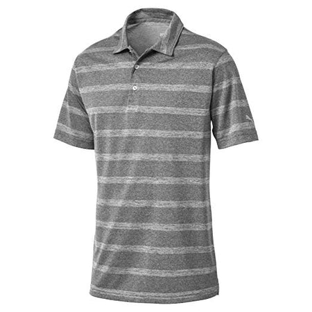Puma Golf Men's Pounce Stripe Polo (FOREST NIGHT) - Golf Country Online