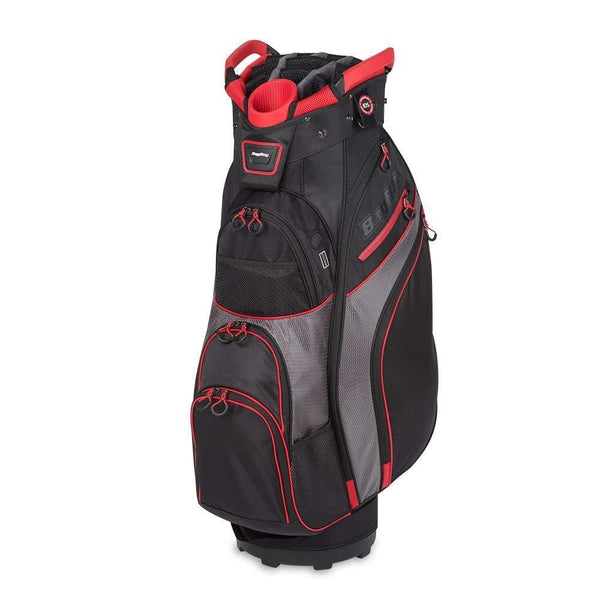 Bag Boy Chiller Cart Bag Black/Charcoal/Red Chiller Cart Bag - Golf Country Online