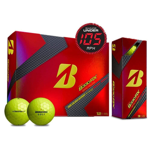 Bridgestone Tour B330 Rx 2016 Golf Ball Yellow - Golf Balls