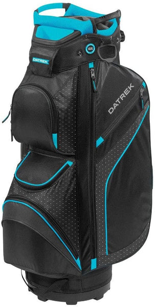 Datrek DG Lite II Cart Bag, Black/Turquoise/White Dots
