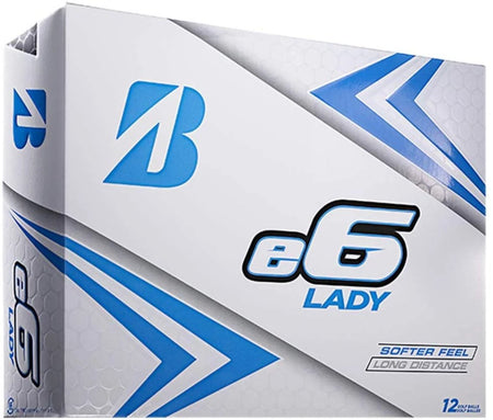 Bridgestone e6 Lady Golf Balls (One Dozen)