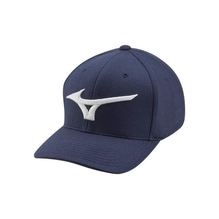 Mizuno Tour Performance Fitted (OSFA) Golf Hat, Navy - Golf Country Online