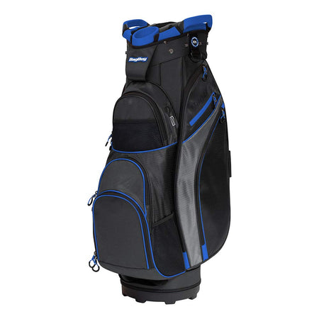 Bag Boy Chiller Cart Bag Black/Charcoal/Royal - Golf Country Online